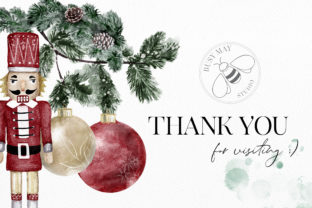 Print on Demand: Watercolor Christmas Magic Classic Graphic Illustrations By Busy May Studio 4