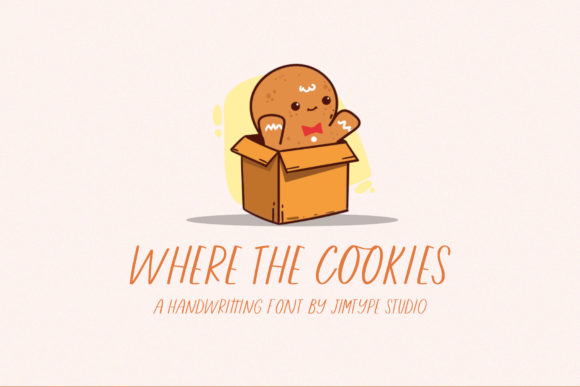 Where the Cookies Font