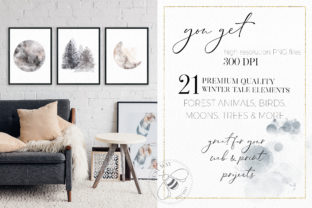Print on Demand: Winter Illustrations Clip Art Watercolor Graphic Illustrations By Busy May Studio 3
