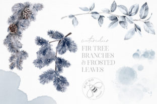 Print on Demand: Winter Illustrations Clip Art Watercolor Graphic Illustrations By Busy May Studio 6
