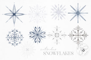 Print on Demand: Winter Illustrations Clip Art Watercolor Graphic Illustrations By Busy May Studio 7