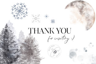 Print on Demand: Winter Illustrations Clip Art Watercolor Graphic Illustrations By Busy May Studio 8