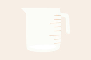Print on Demand: Measuring Cup Kitchen House Graphic Illustrations By Musbila