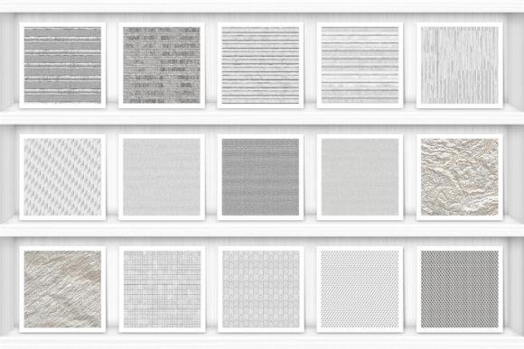 100 Silver Background Textures. Seamless Graphic Graphic