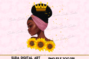 Print on Demand: Black Queen Design Graphic Illustrations By Suda Digital Art