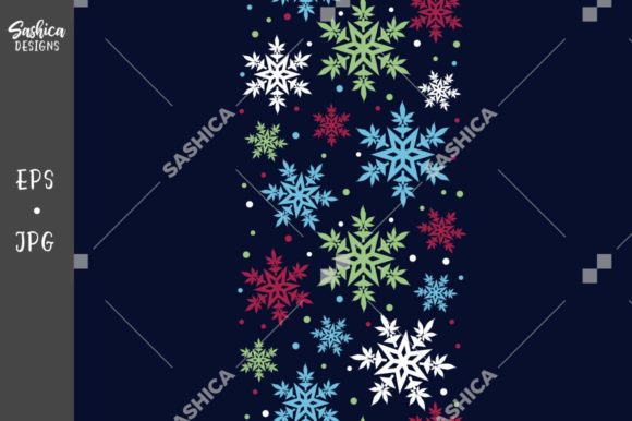 Cannabis Leaf Colorful Border Pattern Graphic Patterns By sashica designs