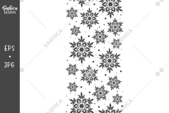 Cannabis Leaf Gray Border Pattern Graphic Patterns By sashica designs