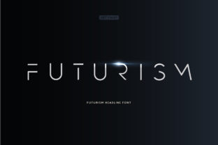 Print on Demand: Futurism Display Font By artyway