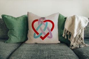 Print on Demand: Heart in Celtic Knot House & Home Embroidery Design By embroidery dp
