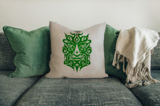 Print on Demand: Incas Mask House & Home Embroidery Design By embroidery dp