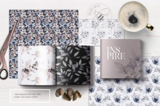 Print on Demand: Lovely Bouquet Floral Pattern Collection Graphic Illustrations By Busy May Studio 2