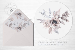 Print on Demand: Lovely Bouquet Floral Pattern Collection Graphic Illustrations By Busy May Studio 3