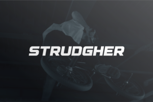 Print on Demand: Strudgher Display Font By shininglabs