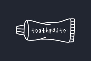 Print on Demand: Toothpaste Doodle Graphic Illustrations By Musbila