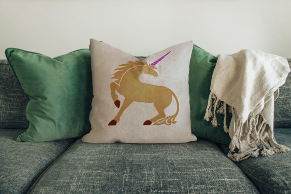 Unicorn House & Home Embroidery Design By Digital Creations Art Studio