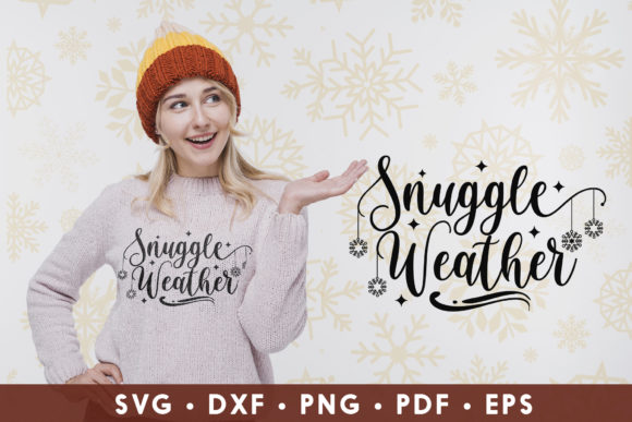 Winter, Snuggle Weather Graphic Crafts By CraftlabSVG