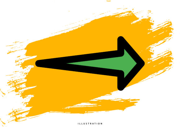 Right Arrow 13 Graphic Illustrations By hello.cluk7