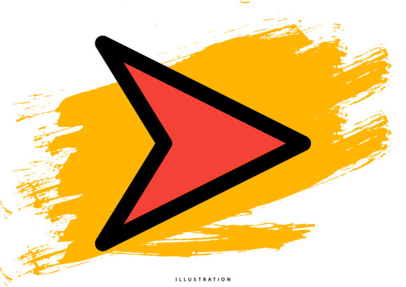 Right Arrow 9 Graphic Illustrations By hello.cluk7