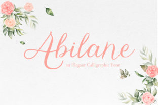 Print on Demand: Abilane Script & Handwritten Font By TypeFactory