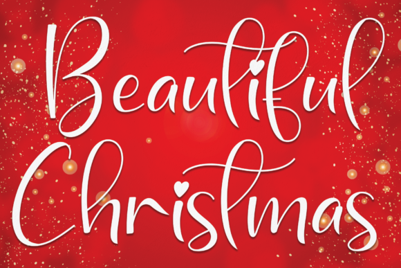 Print on Demand: Beautiful Christmas Script & Handwritten Font By andikastudio