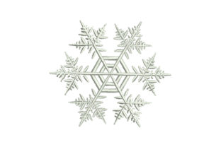 Print on Demand: Beautiful Snowflake Christmas Embroidery Design By EmbArt
