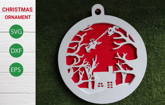 Christmas Ornament SVG Graphic Crafts By artdee2554