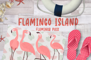 Flamingo Island Graphic Crafts By Firefly Designs