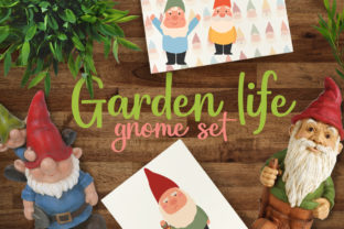 Garden Life - Gnome Set Graphic Crafts By Firefly Designs
