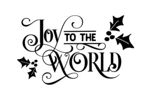 Print on Demand: Joy to the World Graphic Crafts By CarryBeautySVG