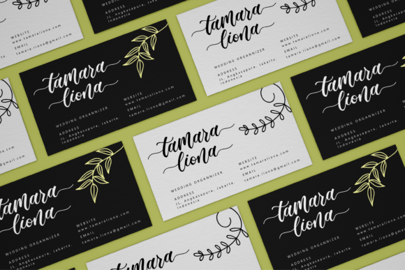 Madista Calligraphy Font Preview