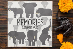 Memories, Elephant Pack Graphic Crafts By Firefly Designs
