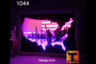 New York Paper Cut Light Box Shadow Box Graphic 3D Shadow Box By Tdesign510
