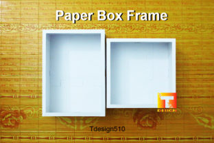 Paper Box Frame Cut Light 3D Shadow Box Graphic 3D Shadow Box By Tdesign510