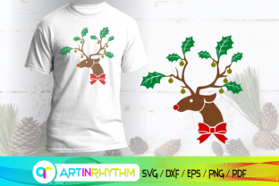 Rudolph the Red Nose Reindeer Svg, X-mas Graphic Crafts By artinrhythm