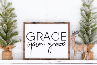 Grace Upon Grace Religious Art  Grafik Illustrationen von Farmstone Studio Designs