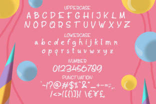 Print on Demand: Salty Unicorn Display Font By letterhend 7