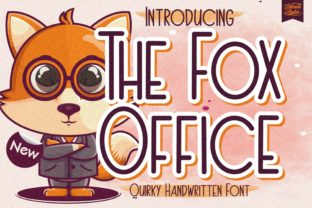 Print on Demand: The Fox Office Display Font By letterenastudios