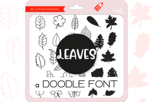 Print on Demand: The Leaves Dingbats Font By WADLEN