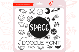 Print on Demand: The Space Dingbats Font By WADLEN