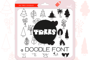 Print on Demand: The Trees Dingbats Font By WADLEN