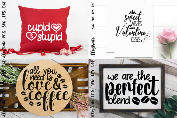 Valentines Day SVG Bundle | Love SVG Graphic Preview