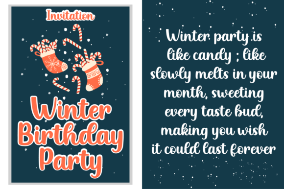 Winter Candy Font Download