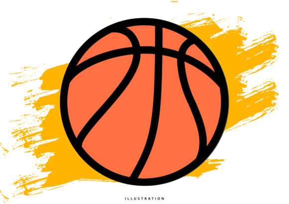 Print on Demand: Basketball Graphic Illustrations By hello.cluk7