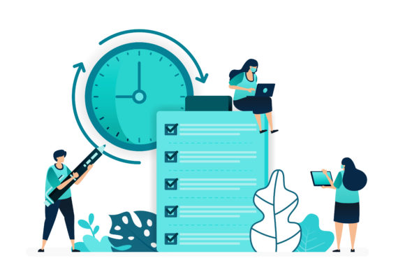 Print on Demand: Checklist Customer Opinions Quality Graphic Illustrations By setiawanarief111