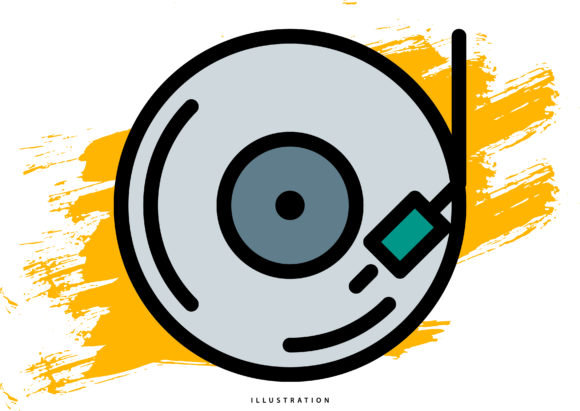 Disc Player 1 Graphic Illustrations By hello.cluk7