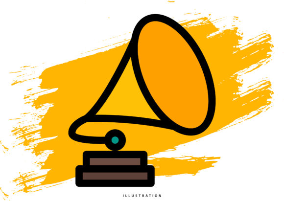 Gramophone Graphic Illustrations By hello.cluk7