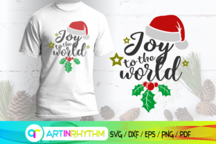 Joy to the World, Merry Christmas Svg Gráfico Crafts Por artinrhythm