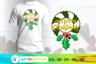 Merry Christmas Svg, Wreath Svg Graphic Crafts By artinrhythm