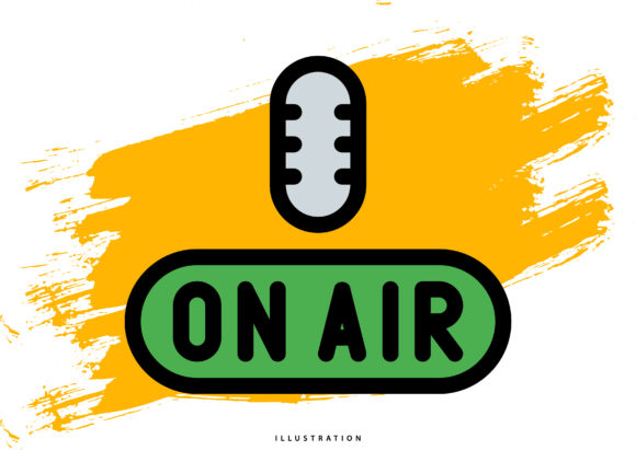 On Air Graphic Illustrations By hello.cluk7