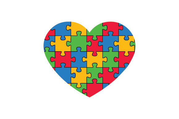 Autism Awareness Jigsaw Heart Awareness Craft Cut File By Creative Fabrica Crafts